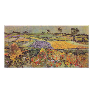 At Auvers by Vincent van Gogh Poster
