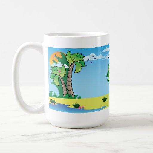 At Beach Coffee Mug