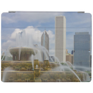 At Buckingham Fountain iPad Cover