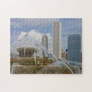 At Buckingham Fountain Jigsaw Puzzle