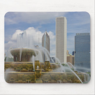 At Buckingham Fountain Mouse Pad