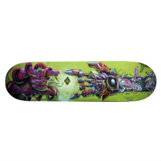 At Creation's Spark - Graffiti Streetart Sk8 Deck Skateboard Decks