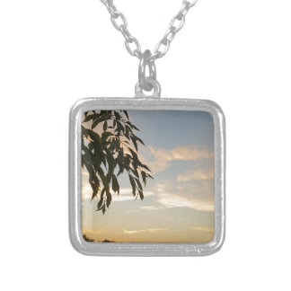 At days end silver plated necklace