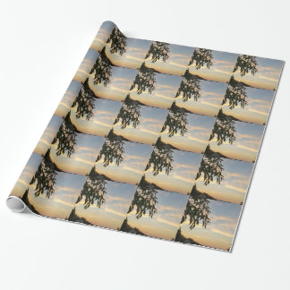 At days end wrapping paper