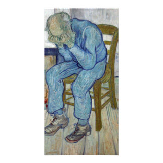 At Eternity's Gate by Vincent van Gogh Customized Photo Card