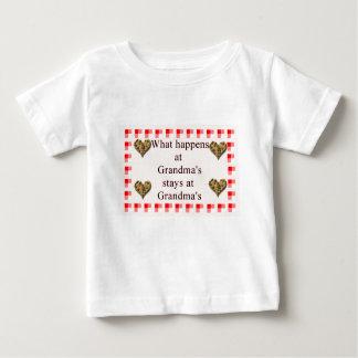 At Grandma's Baby T-Shirt