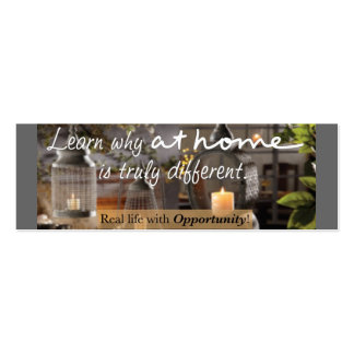 At Home Skinny Business Cards