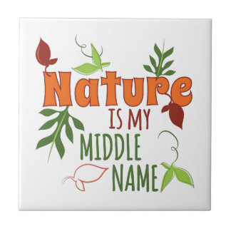 At home with Nature Small Square Tile