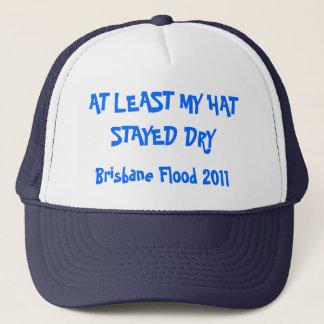 AT LEAST MY HAT STAYED DRY, Brisbane Flood 2011