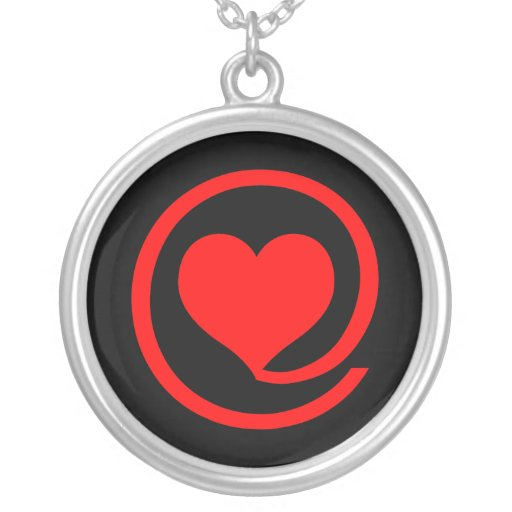At Love Sign Personalized Necklace