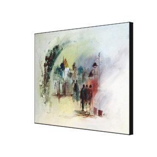 At noon by rafi talby canvas print