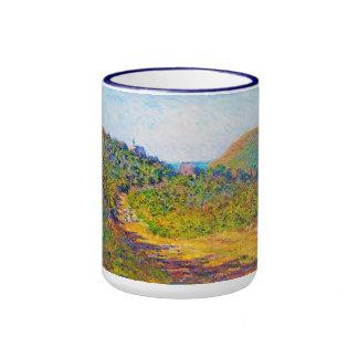At Petit-Dalles, 1884 Claude Monet cool, old, mast Ringer Mug