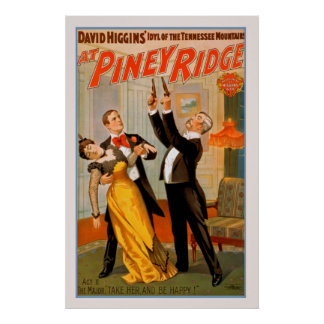 At Piney Ridge Vintage Theater Poster