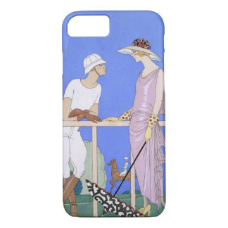 At Polo, 1920-29 (pochoir ) iPhone 7 Case