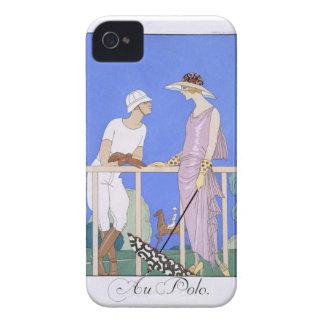 At Polo, 1920-29 (pochoir print) iPhone 4 Cover