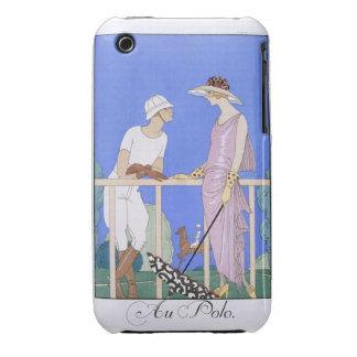 At Polo, 1920-29 (pochoir print) iPhone 3 Cases