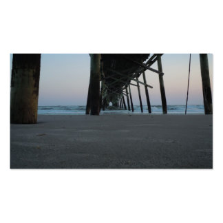 At Sea Level - Oak Island, NC Double-Sided Standard Business Cards (Pack Of 100)