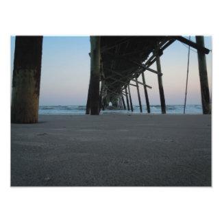 At Sea Level - Oak Island, NC Art Photo