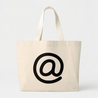 At Symbol Large Tote Bag