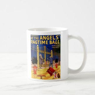 At the angels ragtime ball coffee mug