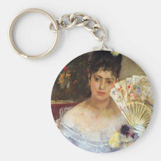 At the Ball by Berthe Morisot Keychain