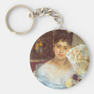 At the Ball by Berthe Morisot Key Chains