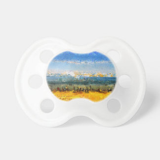 At the beach baby pacifier