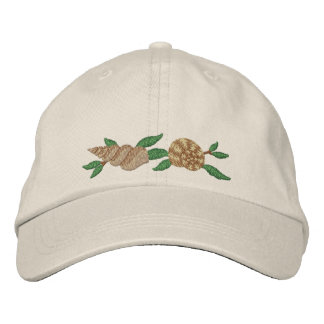At the Beach Embroidered Baseball Caps