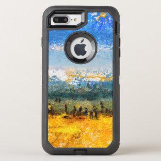 At the beach OtterBox defender iPhone 8 plus/7 plus case
