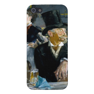 At the Cafe by Edouard Manet iPhone 5 Cases