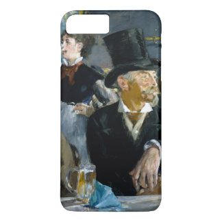 At the Cafe by Edouard Manet iPhone 7 Plus Case