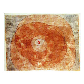 At the Core by Paul Klee Postcard