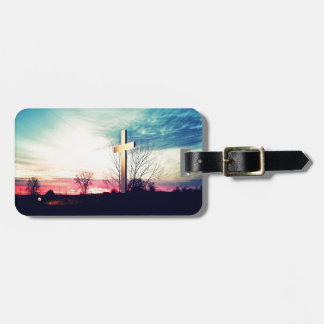 At The Cross Luggage Tag