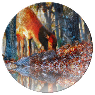 At the Edge of the Forest 2 Plate
