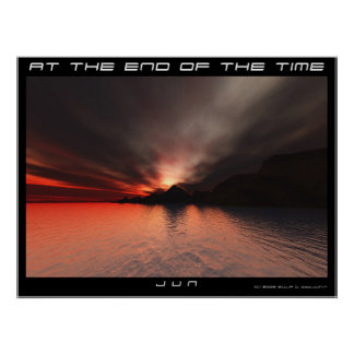 AT THE END OF THE TIME POSTER