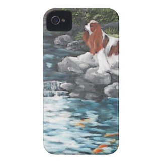 At The Koi Pond iPhone 4 Case-Mate Cases