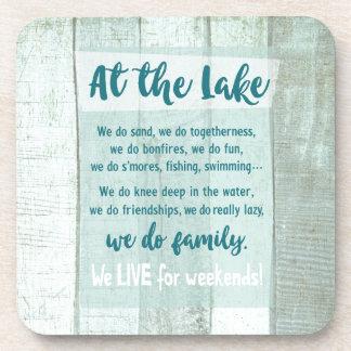 At the Lake Coaster