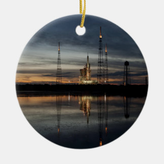 At The Launch Pad Ceramic Ornament