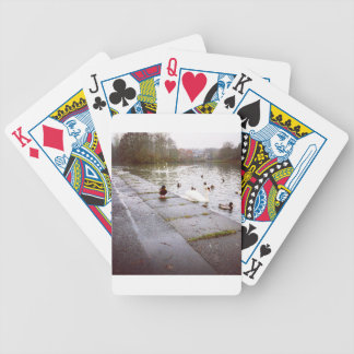 At the Loch Bicycle Playing Cards
