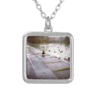 At the Loch Silver Plated Necklace