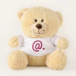@.  At the mark. Teddy Bear