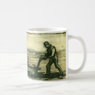At the plough, Vincent Van Gogh 1884 Coffee Mug