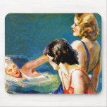 At the Pool Mouse Pad