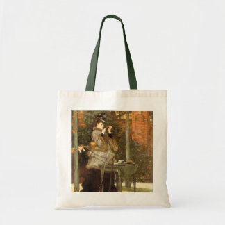 At the Rifle Range by James Tissot Budget Tote Bag