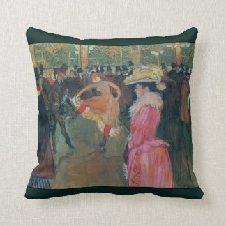 At the Rouge ~ The Dance ~ 1890 Cushion