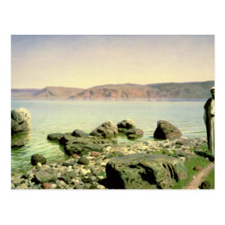 At the Sea of Galilee, 1888 Postcard