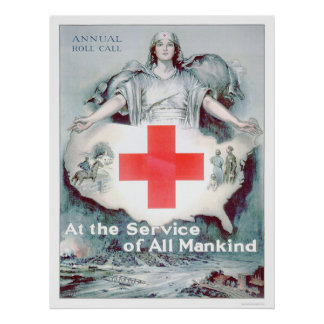 At the Service of All Mankind US00262 Posters