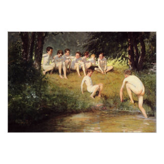 At the Swimming Hole Poster