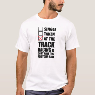 At the track racing >> T-Shirt