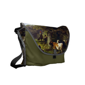 At the Watering Hole Messenger Bags